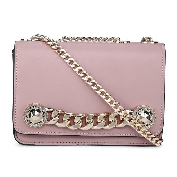 028ef01c9595 Versace Jeans Bags, Pink Satchel Bag for Women at Thecollective.in