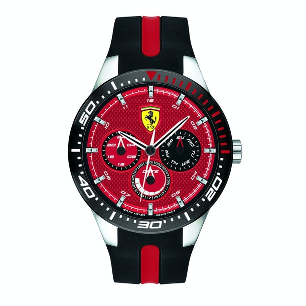 Buy Ferrari Ferrari Red Rev T Multifunction Red Colour Round Dial Mens Watch For Men Online The Collective